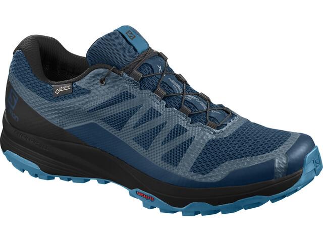 Salomon XA Discovery GTX Shoes Herre poseidon/black/fjord blue